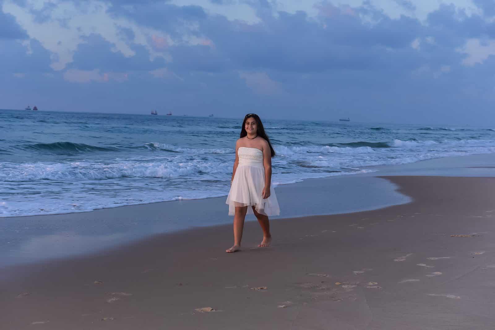 צילום בים - בת מצווה